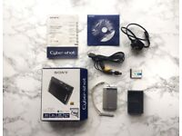 Silver Sony Cyber-shot DSC-T90 12.1MP Digital Camera-4x Optical Zoom/Steady Shot Image Stabilization