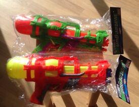 New 2 X Toy Water Guns