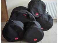 Pearl rock sizes full drum case set