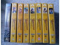 Young Indiana Jones - VHS tapes X8 - various adventures
