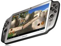 Beatiful android tablet/console hybrid