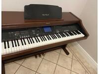 Technics SX-PR602 Digital Piano Mahogany