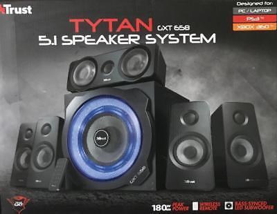 Trust Gaming GXT 658 Tytan 5.1 Surround PC-Lautsprecher Set (C9148-1)