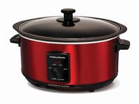 Morphy Richards 3.5L slow cooker - red colour