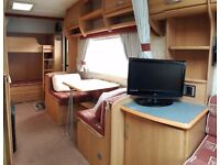 Swift Charisma 570 caravan . 2004. 6 berth. Multiple extras in description. Selling to upgrade.