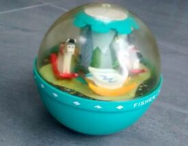 Vintage Fisher Price Chime Ball. Smoke free and pet free home.
