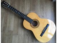 JHS ENCORE ENC36N 6 String Acoustic 3/4 Spanish Classic Acoustic Guitar Natural Nylon strings