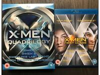 X-Men Quadrilogy & First Class Blu-ray
