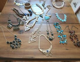 job lot of modern costume jewellery