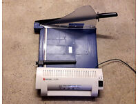 Handy, useful, cheap. A4 Laminator and Guillotine.