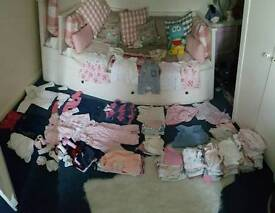 Baby girls clothes, various sizes up to 6months