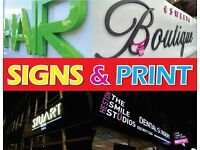 Shop Signs, Signage, Light Boxes, Banners, Signmaker, Menu Boxes, Vehicle Graphics, Printing, Design