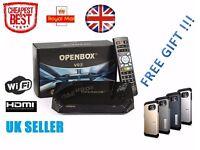 Genuine 100% Original New Openbox V9S Satellite Receiver IPTV WIFI UK STOCK