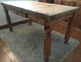 Rustic Mexican Pine Table