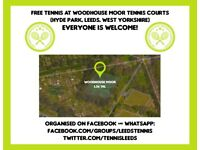 🎾 FREE Tennis For Everyone | Woodhouse Moor Courts, Hyde Park, LS6/LS2 | Players Wanted! Headingley