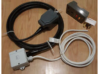 Outdoor / Underground home to garden / shed Mains Power Cabling Kit