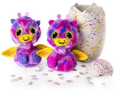 Hatchimals Surprise Giraven Twins Egg In Stock  Batteries Inluded  New Free Ship