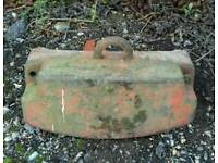 Front weight for Nuffield tractor £60