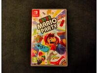 Super Mario Party Switch (like new)
