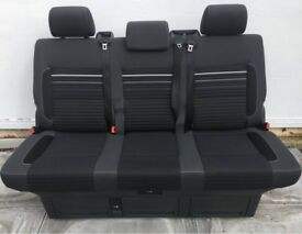 VW T5 GP Caravelle Rear Triple Seat Bed Cup Pattern Special Edition