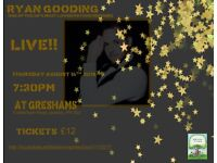 Ryan Gooding Psychic Evening at Greshams Ipswich August 16th