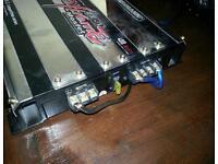 Car amplifier amp