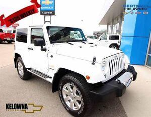 2015 Jeep Wrangler Sahara 4X4, leather naviagtion, remote start,