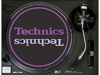 TECHNICS SL1200/1210 MK2/3/5 TURNTABLES WANTED!