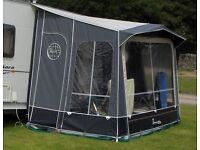 Isabella Minor Moonlight Porch Awning with Carbon X Poles Excellent condition
