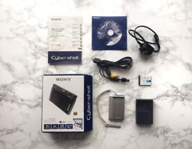 Sony Cyber-Shot DSC-T90 12.1MP Compact Digital Camera - SILVER