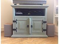 Refurbished Wooden TV Cabinet