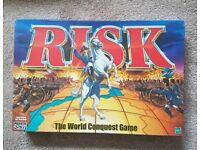 Risk (2000 Edition) Board Game