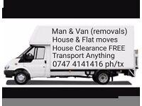 0747 4141416 Man & Van (Handsworth, Great Barr, Lozells, Perry Barr, Aston, Hockley, Birmingham etc)