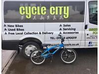 "BOYS BMX STYLE BIKE 20"" WHEELS £25"