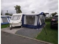 Elddis jetstream ex300 1997 with awning and accessories CRIS registered