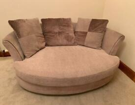 DFS Large Cuddle Chair / 2 Seater Sofa, Can Deliver