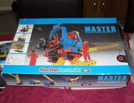 Vintage Fischer Technik Master Construction Set 30 301 Incomplete Fischertechnik