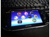Sony Playstation Vita Wifi/3G Version + 8GB memory Card.
