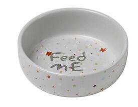 "Brand New Petface Ceramic Pet Food Bowl ""Mixed Stars"" (£7.63 on Amazon)"
