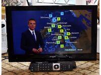 "Linsar 22LED504 22"" Full HD LED TV w/ Freeview"