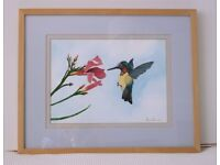 Wall Art - Two Original Watercolour Paintings