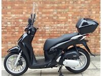 Honda SH125, In excellent condition,Only 3051miles, ABS!