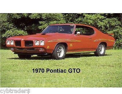 1970 Pontiac Gto Refrigerator / Tool Box Magnet