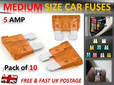 VAUXHALL CAR TOP QUALITY FUSES SET MICRO BLADE *5 7.5 10 15 20 25 30 AMP*