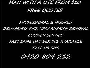NEED A BED OR MATTRESS PICKED UP? MAN AND UTE FROM $20 ALL AREAS Brisbane City Brisbane North West Preview