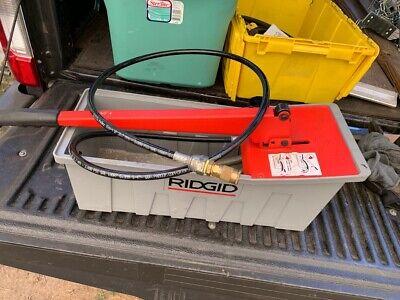 Ridgid 1450 Hand Hydraulic Test Pump