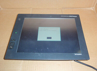 Gt1585v-stba Mitsubishi Plc Hmi Operator Interface Touchscreen Gt1585vstba