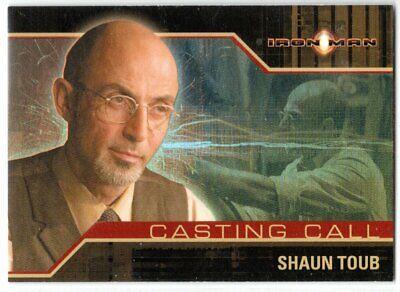 IRON MAN MOVIE CASTING CALL CC6 SHAUN TOUB AS YINSEN INSERT CARD