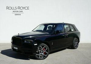 Rolls-Royce Cullinan Black Badge available now