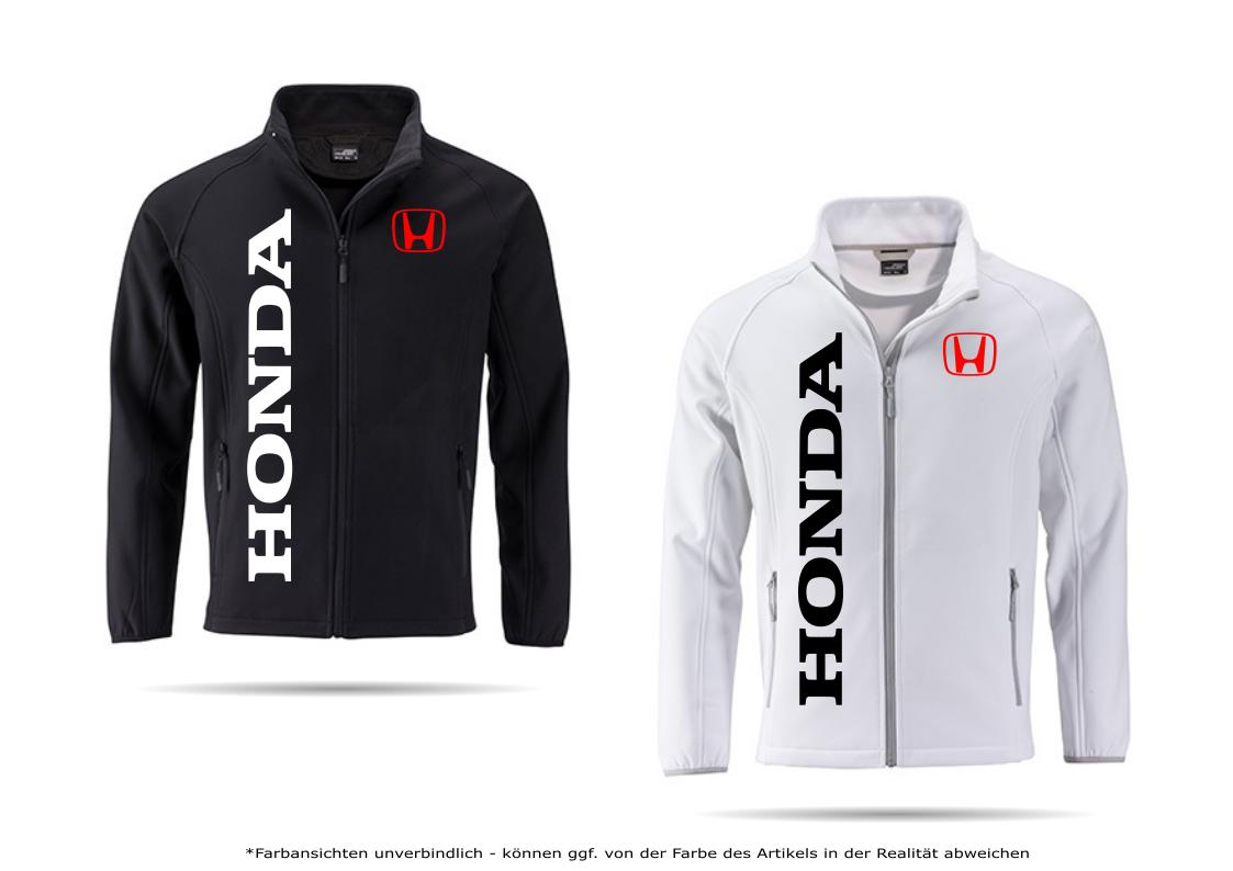 Honda Type Softshelljacke Jacke Hoodie Pullover Übergangsjacke Tuning Winter